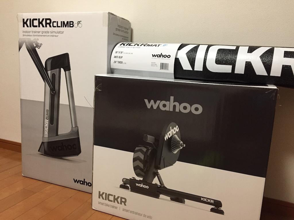 Wahoo KICKR (2020) + KICKR CLIMBのZiwft環境で試してみたこと