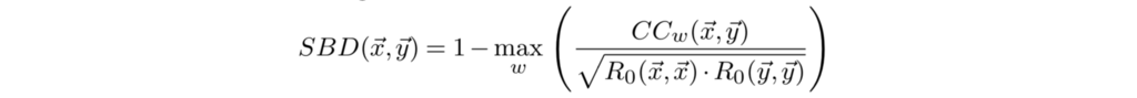 時系列データクラスタリングとk-Shape
