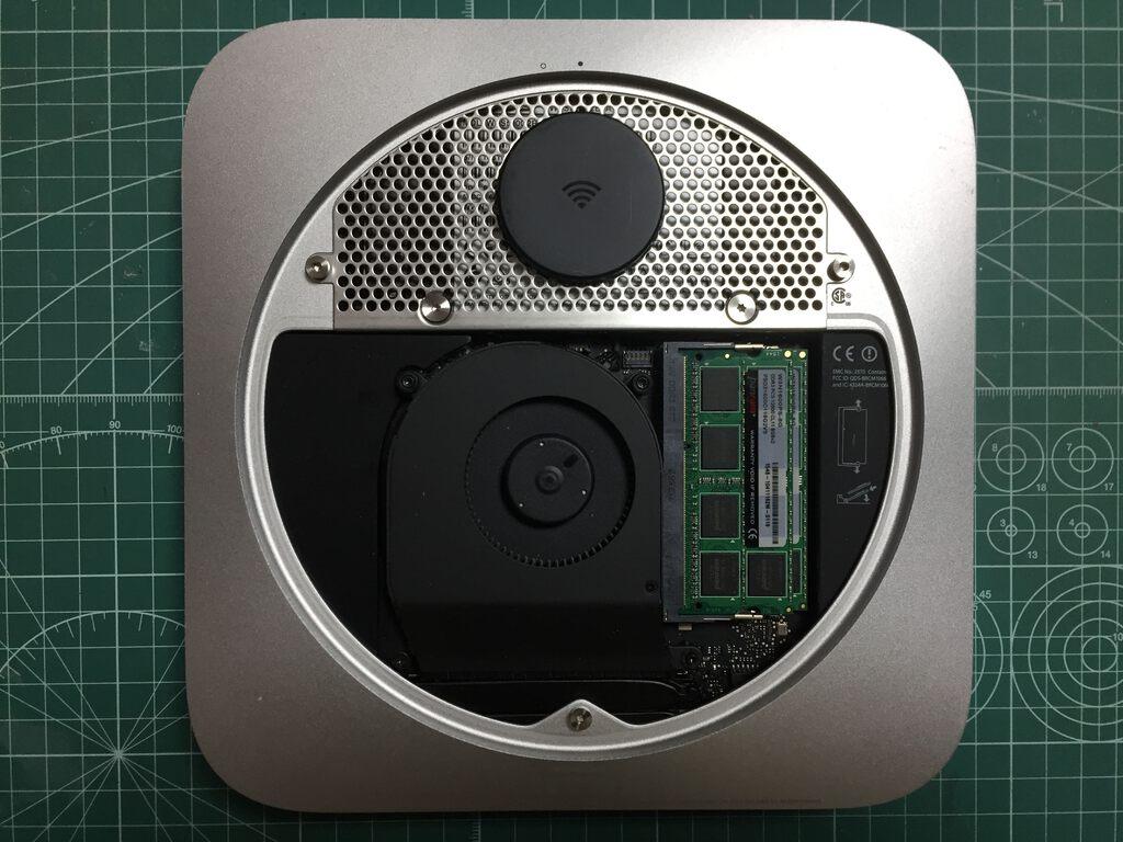 Upgrading Mac Mini (Late 2012) Hard Disk Drive to 512GB SSD